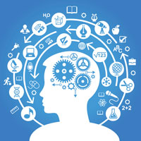 The brain acts as a top manager or overseer