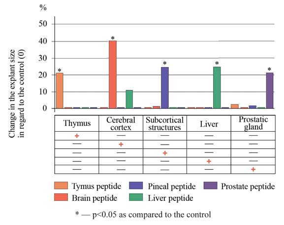 Peptide tissue-specific
