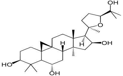 The structure of cycloastragenol